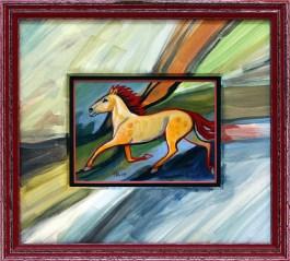 daigle leach horse