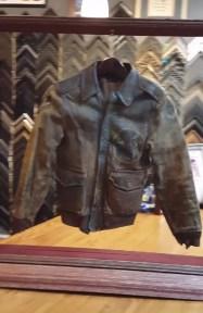 Bomber jacket two sided frame