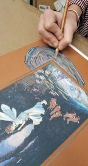 hand embellished mats