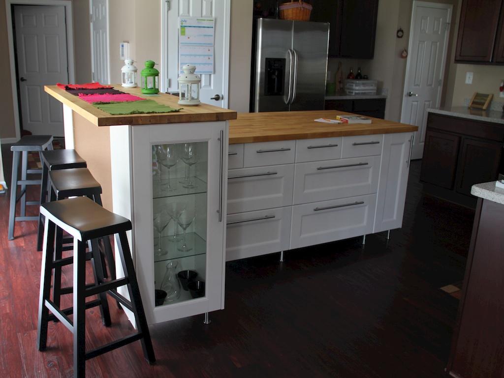 ikea kitchen island canada sink installation cost paint