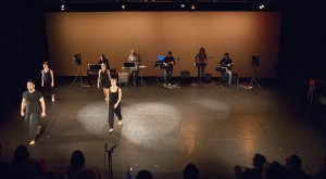 photo by David DeHoyos Frame Dance works with emerging composers and live music