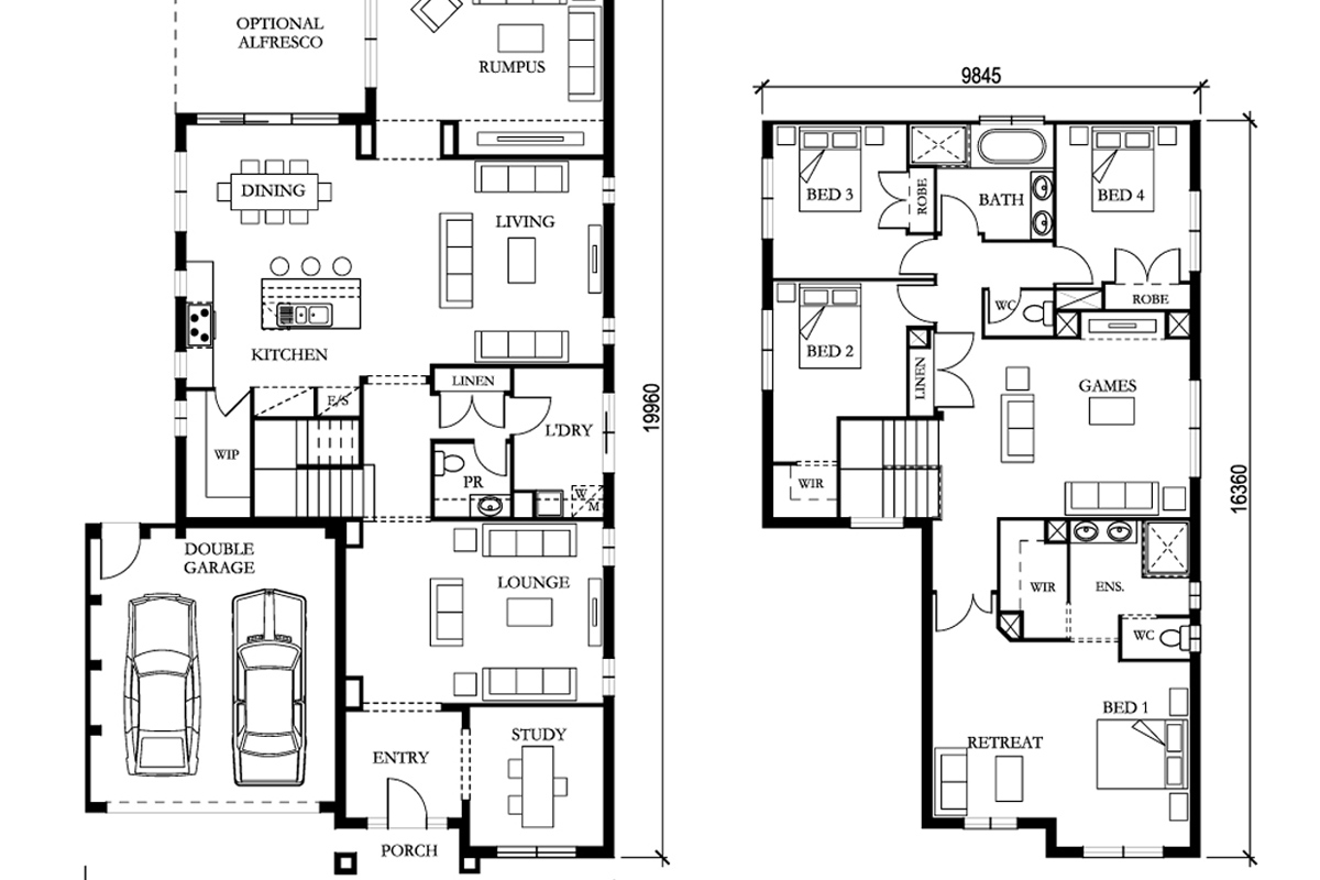 Interpreting your Floor Plan and a Glossary of Terms