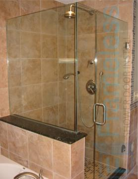 88 Custom Frameless Glass Enclosure Shower Door Installation Services 1