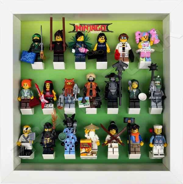 Ninjago Movie Minifigs Series Frame Green Punk