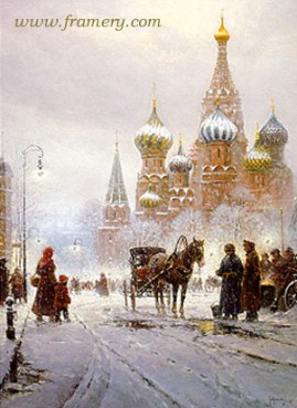 CATHEDRAL OF ST. BASIL - RED SQUARE Current price - Call