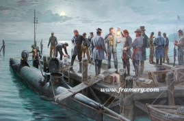 THE FINAL MISSION Charleston, SC, Feb. 17, 1864 Confederate submarine H.L. Hunley prepares for fateful encounter with the USS Housatonic In stock and available Current price - call for price