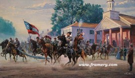 MORGAN'S OHIO RAID GEN J. H. Hunt leads Confederate cavalrymen on a raid through Indiana and Ohio, July 1863 In stock and available Current price - $200
