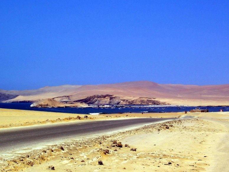 Lagunillas seaside village in the National Reserve of Paracas - Peru
