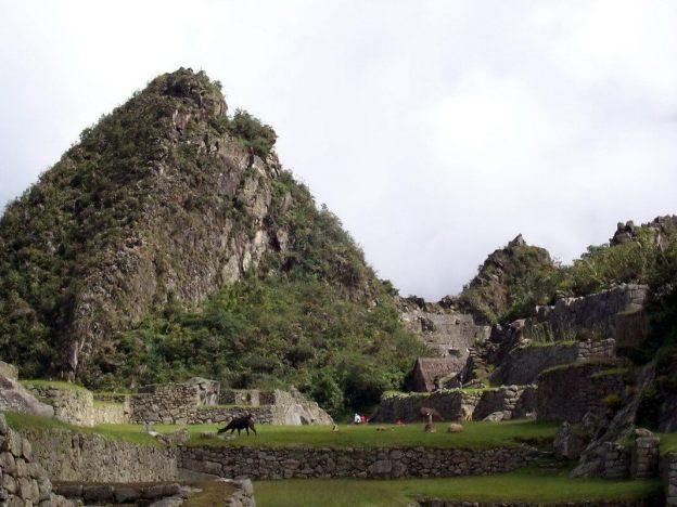 An image of Huchuy Picchu at Machu Picchu in Urubamba Province, Peru.
