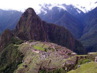 Image of Machu Picchu in Peru, South America