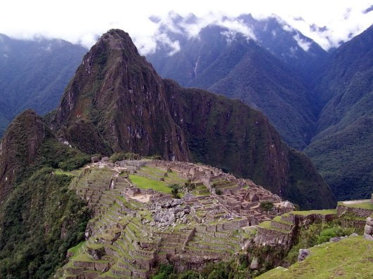 Machu Picchu in Peru, South America