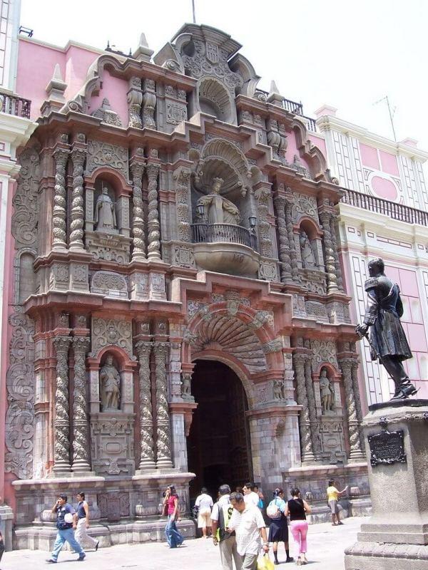 Church San Agustin - Lima - Peru