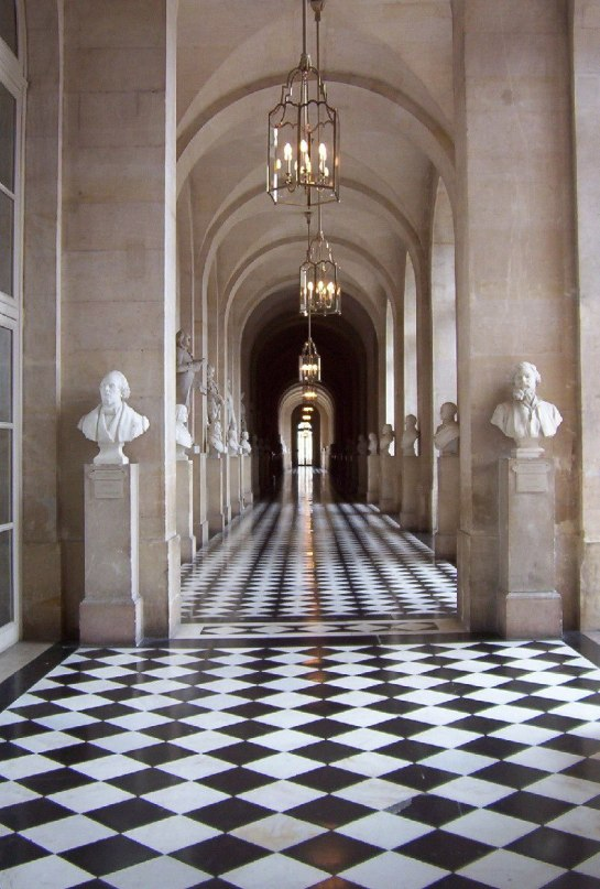 Colonnade, Palace of Versailles, France