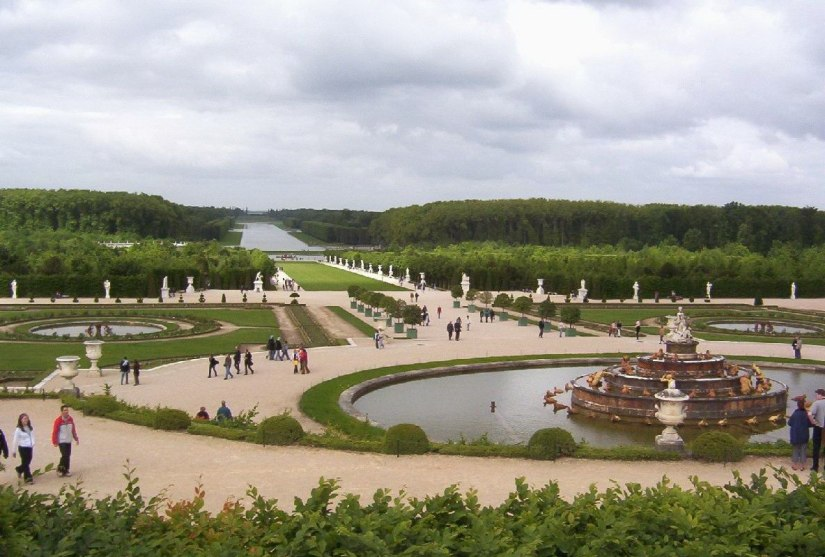 Garden at the Palace of Versailles - France