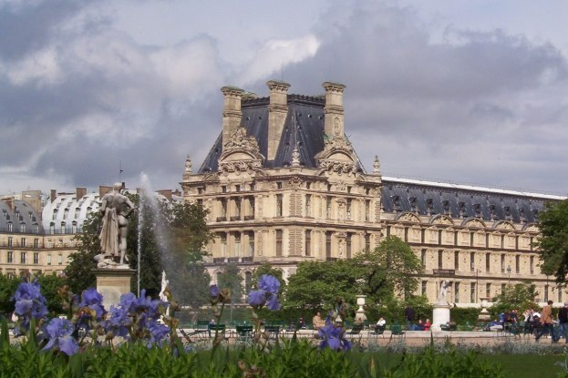 Louvre - The Tuileries gardens - Paris - France