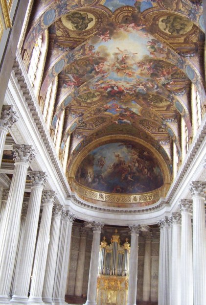 Palace of Versailles - The Royal Chapel - France