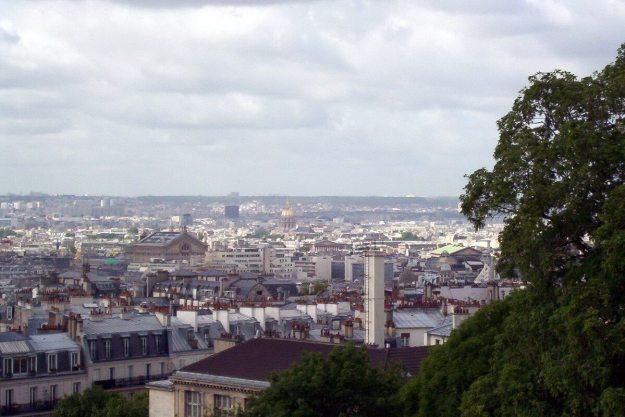 Sacre Coeur - view of Paris - France