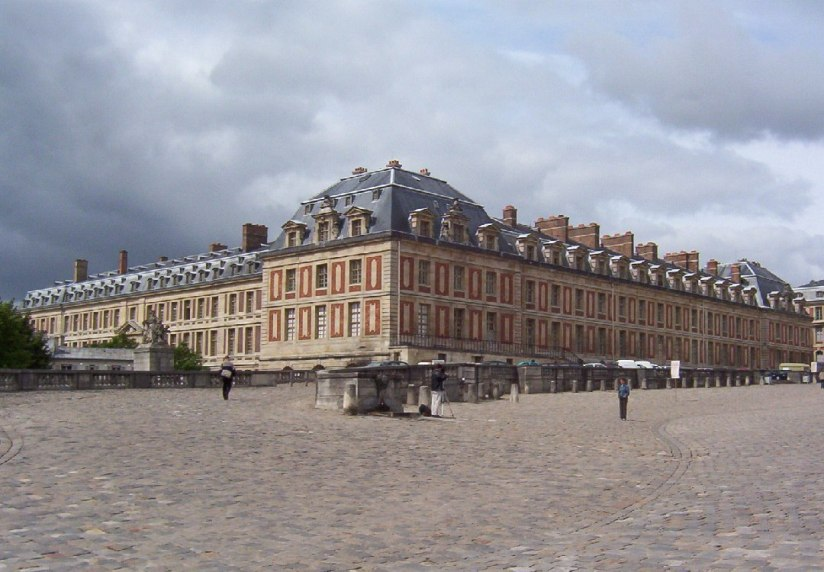 Wing of the Palace of Versailles - France