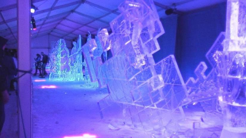 1st place Ice Sculpture winner - Winterlude