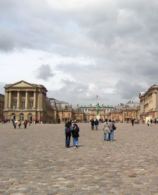 Palace of Versailles Royal Courtyard - France