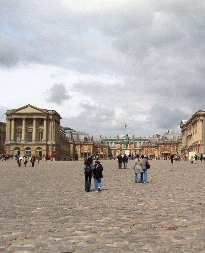 Palace of Versailles Royal Courtyard - France