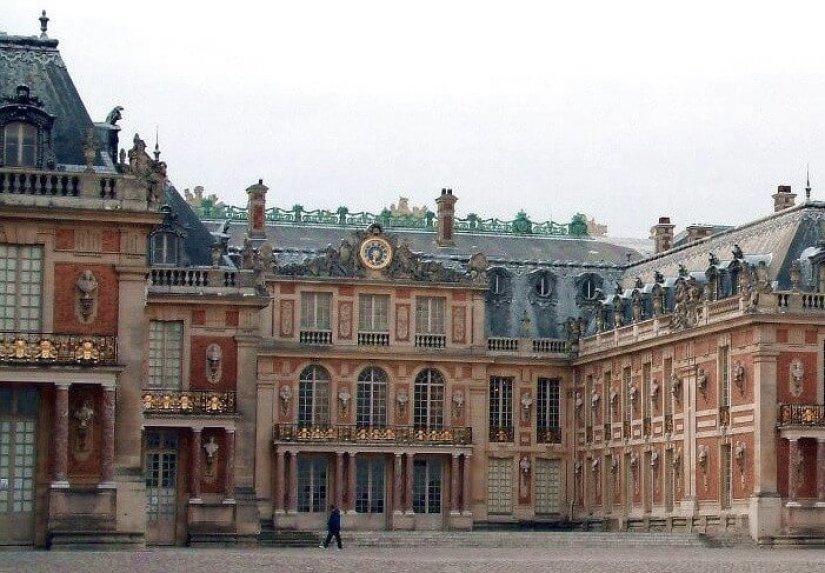Palace of Versailles - Royal Courtyard -- France