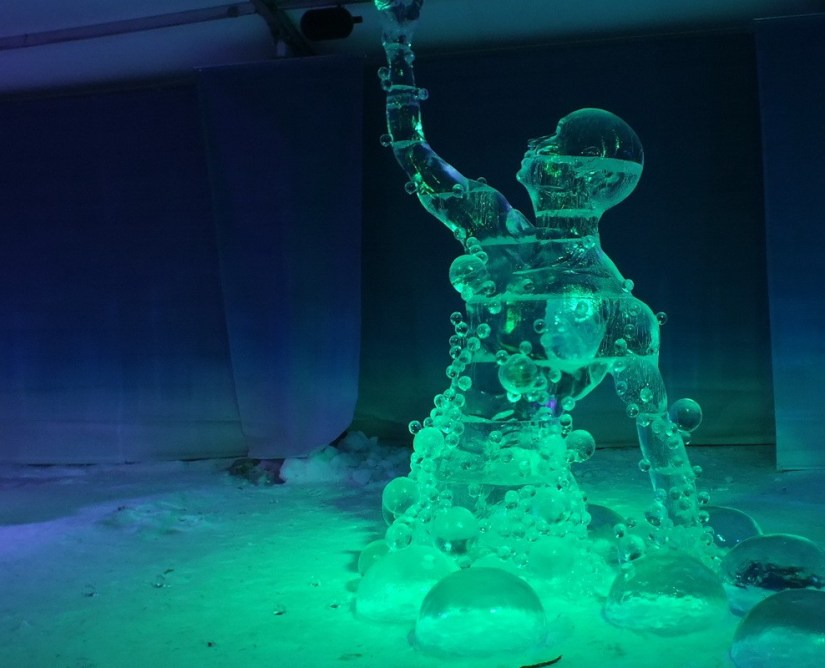 Senses - ice sculpture - Winterlude - Canada