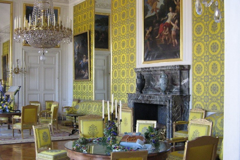 The Yellow Room - Grand Trianon - - Versailles - France