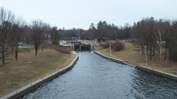 Lock 27 Trent Severn Waterway - -- Youngs Point - Ontario - Canada
