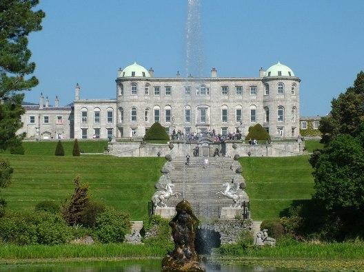 Powerscourt - view from triton lake - Ireland