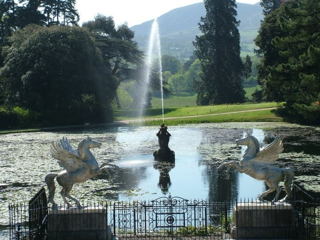 Triton Lake - Winged Horses - Powerscourt - Ireland