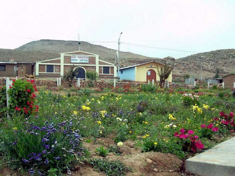Nuevo Santiago village gardens, Peru