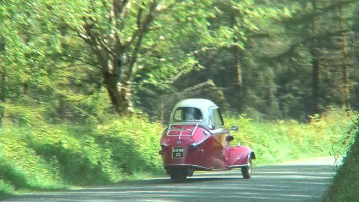 Red Messerschmitt KR- 175 microcar -- Enniskerry - Wicklow - Ireland