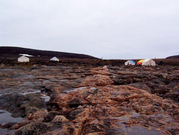 base camp - kekerten island - nunavut - canada