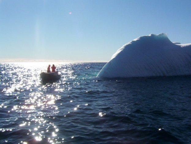 iceberg - arctic ocean - nunavut - canada