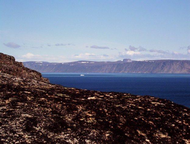 View from Kekerten Island in the Cumberland Sound, off Baffin Island, Nunavut, Canada