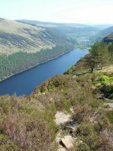 upper lake - glendalough - wicklow - ireland