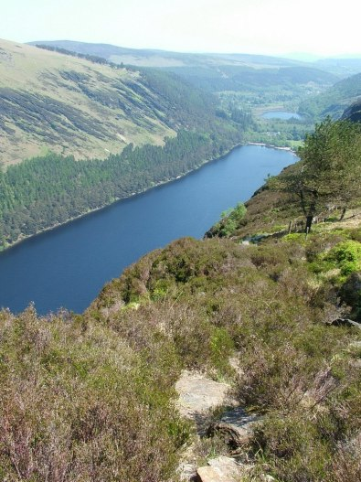 upper lake - glendalough - wicklow - ireland