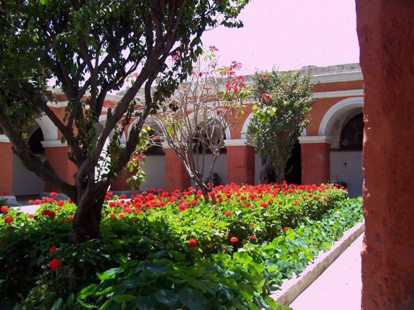 Main Red Cloister, Santa Catalina Convent, Arequipa, Peru