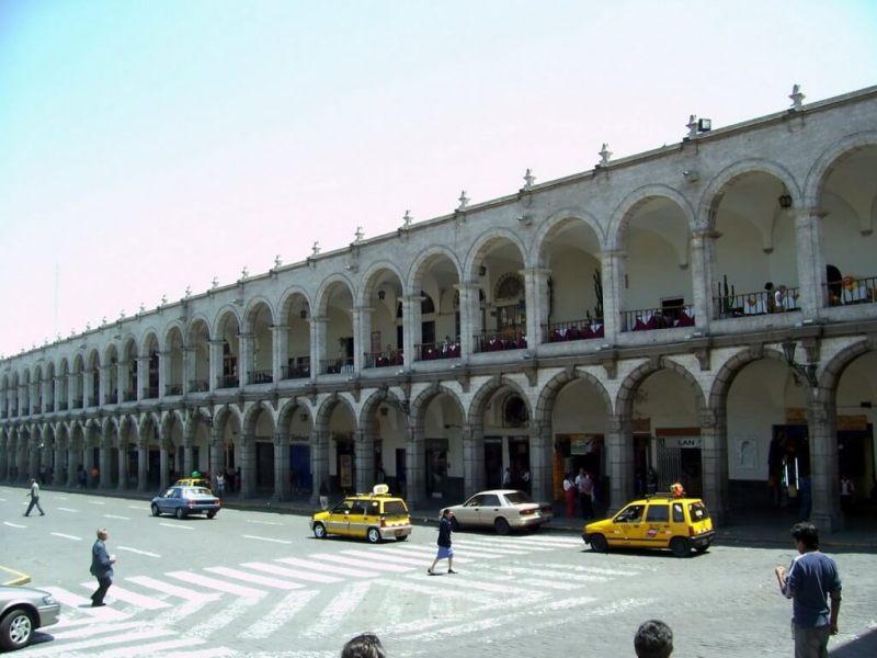 Plaza de Armas , Arequipa, Peru