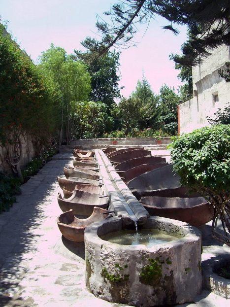 Santa Catalina Convent Laundry, Arequipa, Peru