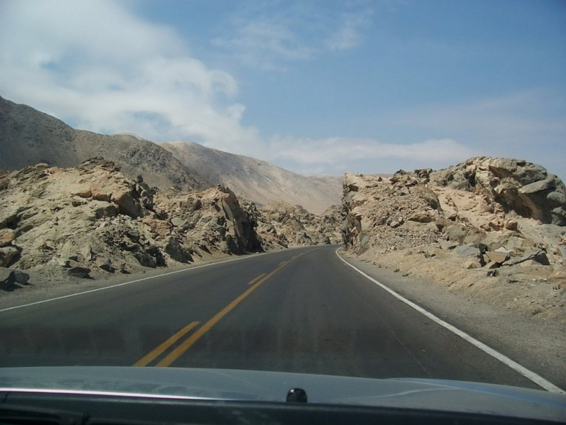 desert along pan american highway near nazca peru - frame to frame