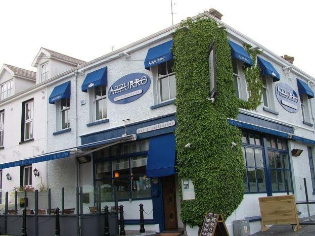 azzurro restaurant at dunmore east in ireland