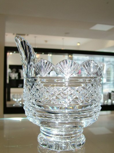 crystal bowl - waterford crystal - ireland