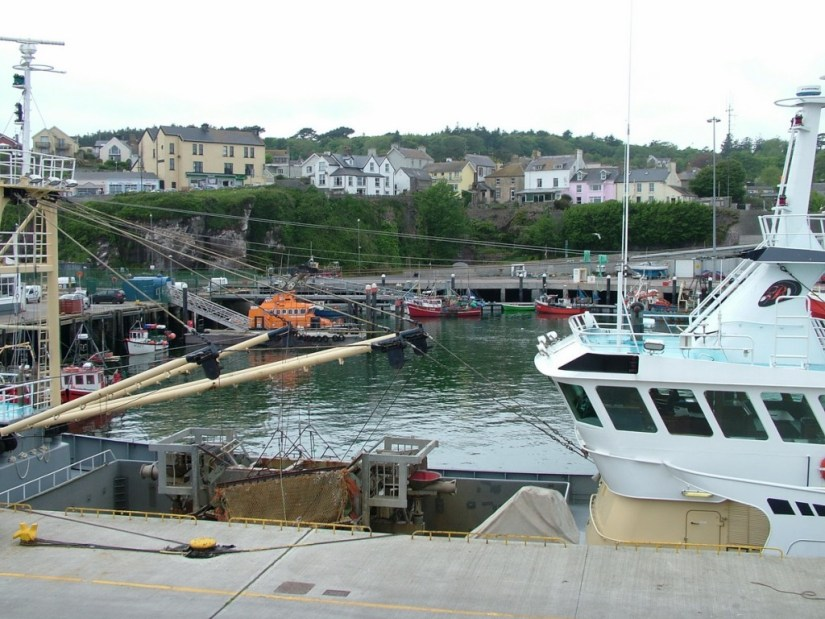 dunmore east harbour village in county waterford - ireland