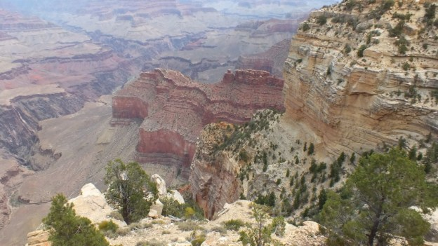 Battleship Rock -south rim - Grand Canyon