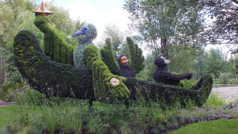 Born With The Sun - Mosaiculture - Montreal Botancial Gardens