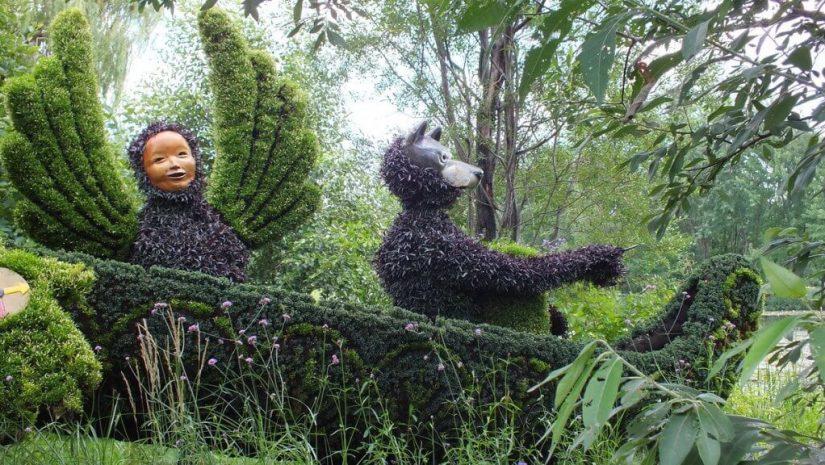 Born With The Sun (closeup) - Mosaiculture - Montreal Botancial Gardens