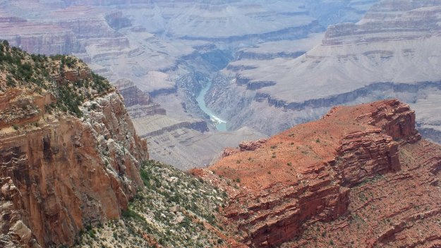Grand Canyon - view of Colorado River - South Rim