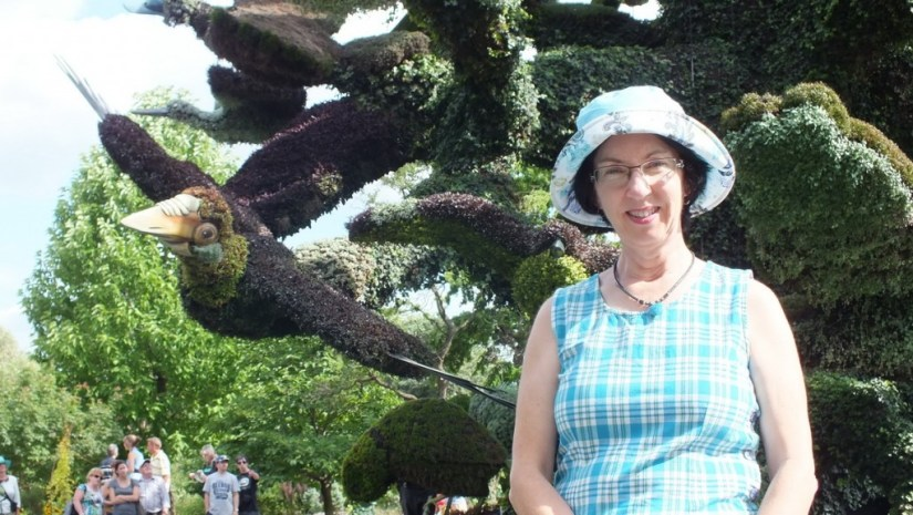 Tree of Birds (Jean) - Mosaiculture - Montreal Botancial Gardens